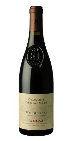 Delas Vacqueyras - Domaine des Genêts Vacqueyras Rouge 2015