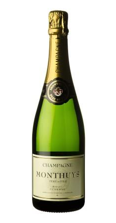 Champagne Monthuys Brut Réserve Champagne Brut Blanc