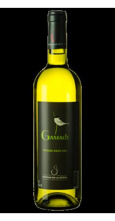 Gamade - Tendre demi sec - blanc IGP Corrèze Blanc doux 2015