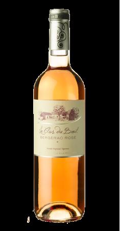 Clos du Breil rosé demi-sec Bergerac Rosé 2017