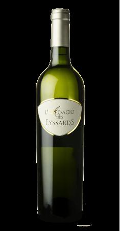 """Château des Eyssards """"Adagio"""" blanc IGP Périgord Blanc 2016"""