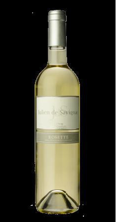 Julien de Savignac Rosette Rosette Blanc doux 2018