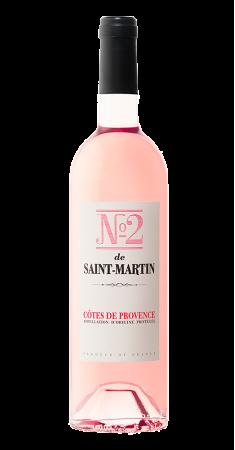 Château de Saint Martin - N°2 rosé Côtes de Provence Rosé 2018