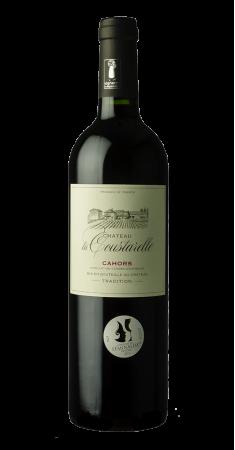 """Château la Coustarelle """" Tradition"""" Cahors Rouge 2016"""