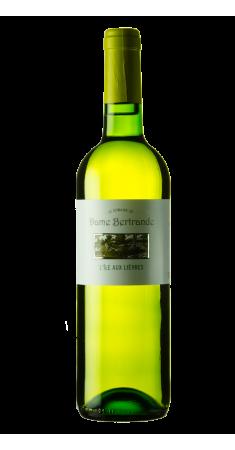 """Domaine Dame Bertrande """"Ile Aux Lièvres"""" Côtes de Duras Blanc 2018"""