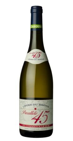 Jaboulet - Parallèle 45 blanc Côtes du Rhône Blanc 2018