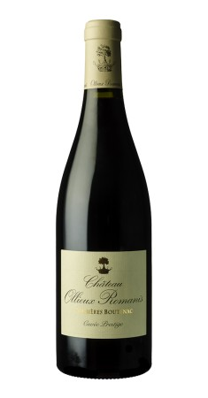 Château Ollieux Romanis - Prestige rouge Corbières Rouge 2017
