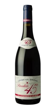 Parallèle 45 rouge Côtes du Rhône Rouge 2017