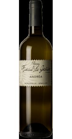 """Château Tirecul La Gravière """"Andréa"""" blanc Bergerac Blanc 2017"""
