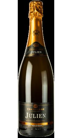 Champagne Julien Brut 1er Cru Champagne Brut Blanc