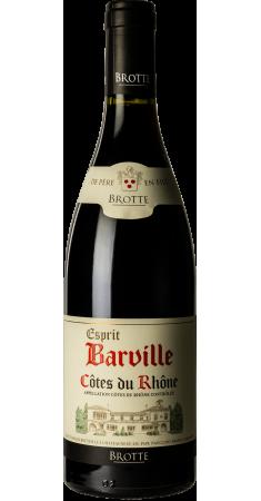 Brotte - Esprit de Barville rouge Côtes du Rhône Rouge 2017