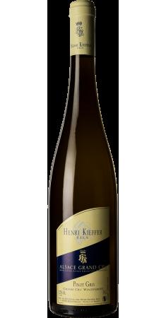 Pinot Gris Winzenberg - Dom Kieffer Alsace Grand Cru Blanc 2015