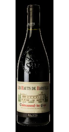 Brotte - Chateauneuf du Pape - Les Hauts de Barville Châteauneuf du Pape Rouge 2017
