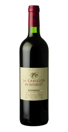 Le Carillon de Rouget - 2nd vin Pomerol Rouge 2015