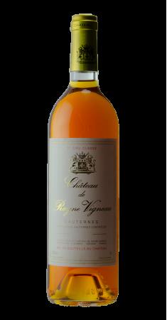 Château Rayne Vigneau -Sauternes Sauternes Blanc doux 1990