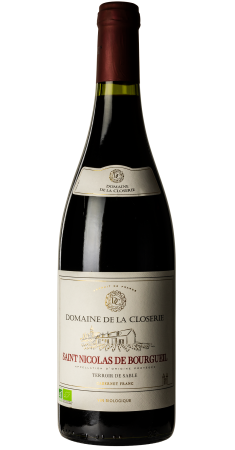 Domaine de la Closerie  - Terroir de Sable Saint-Nicolas de Bourgueil Rouge 2018