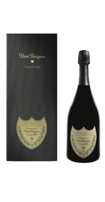 Champagne Dom Perignon millésimé avec Coffret