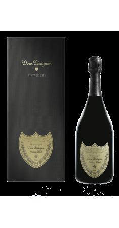 Champagne Dom Perignon millésimé avec Coffret Champagne Millésimé Blanc