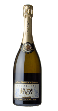Champagne Duval Leroy Extra Brut Champagne Non Dosé Blanc