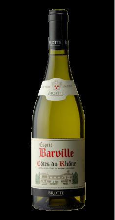 Brotte - Esprit de Barville blanc Côtes du Rhône Blanc 2018