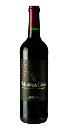 Mouton Cadet rouge - Baron Ph de Rothschild Bordeaux Rouge 2017
