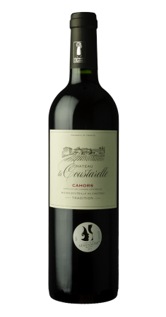 """Château la Coustarelle """" Tradition"""" Cahors Rouge 2018"""