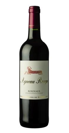 """Bordeaux """"Agneau rouge"""" Baron Ph. de Rothschild Bordeaux Rouge 2019"""