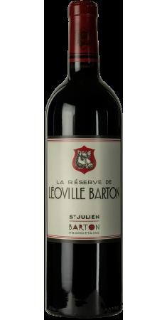 La Réserve de Léoville Barton -2nd vin Saint-Julien Rouge 2015