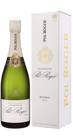 Champagne Pol Roger Brut Reserve Champagne Brut Blanc