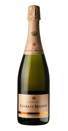 Champagne Charles Mignon rosé 1er Cru Champagne Rosé Rosé