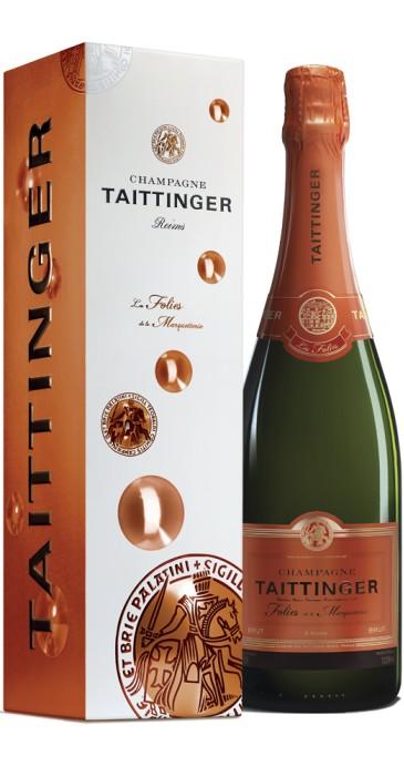 "Champagne Taittinger ""Folies de la Marquetterie"""