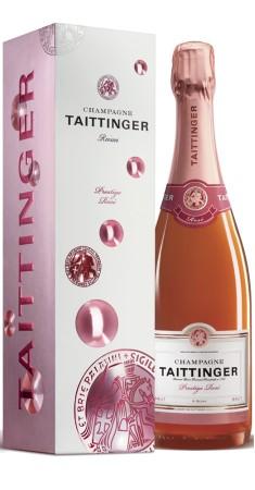 """Champagne Taittinger """"Prestige Rosé"""" Champagne Rosé Rosé"""