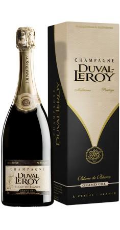 Champagne Duval Leroy Blanc de Blancs millésimé Champagne Blanc de Blanc Blanc