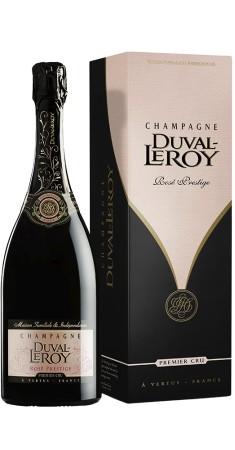"""Champagne Duval Leroy """"Prestige rosé"""" Champagne Rosé Rosé"""