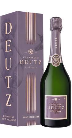 Champagne Deutz rosé millésimé Champagne Rosé Rosé